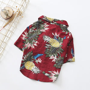 Tropical Summer Dog Shirts