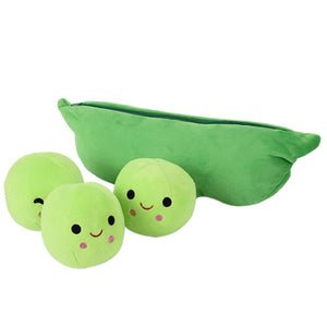 Pea Pod Plush Toy