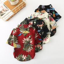 Load image into Gallery viewer, Tropical Summer Dog Shirts