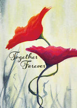 Together Forever Floral Anniversary Card