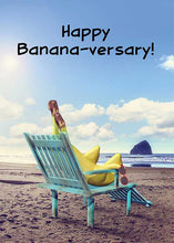 Happy Banana-versary Anniversary Card