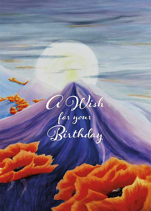 A Wish For Your Birthday Nature Birthday Card