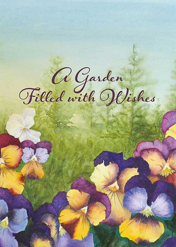 Garden Wishes Nature Birthday Card