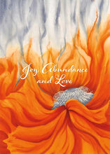 Joy, Abundance and Love Nature Birthday Card