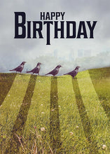Funny Birds Birthday Card