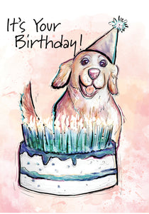 It's your Birthday! Dog Birthday Card