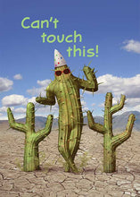 Can't Touch This Cactus Birthday Card