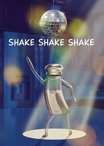 Shake, Shake, Shake Birthday Card