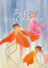 Call for Celebration Flower Congratulations Card