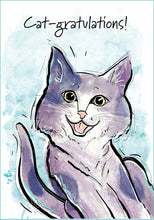 Cat-gratulations Cat Congratulations Card