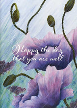 Happy the Day Floral Nature Get Well Card