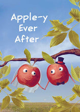Apple-y Ever After Wedding Card