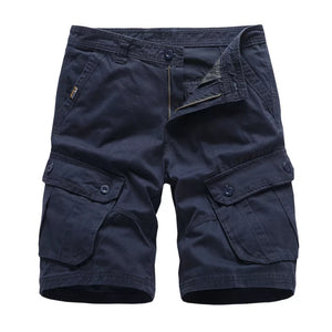 Navy Blue Cargo Shorts