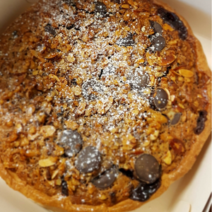 The Tart Tin Nuts and Chocolate Tart | Made to order in Dunedin NZ