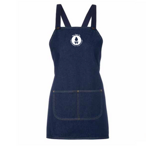 The Tart Tin Denim Apron | Front