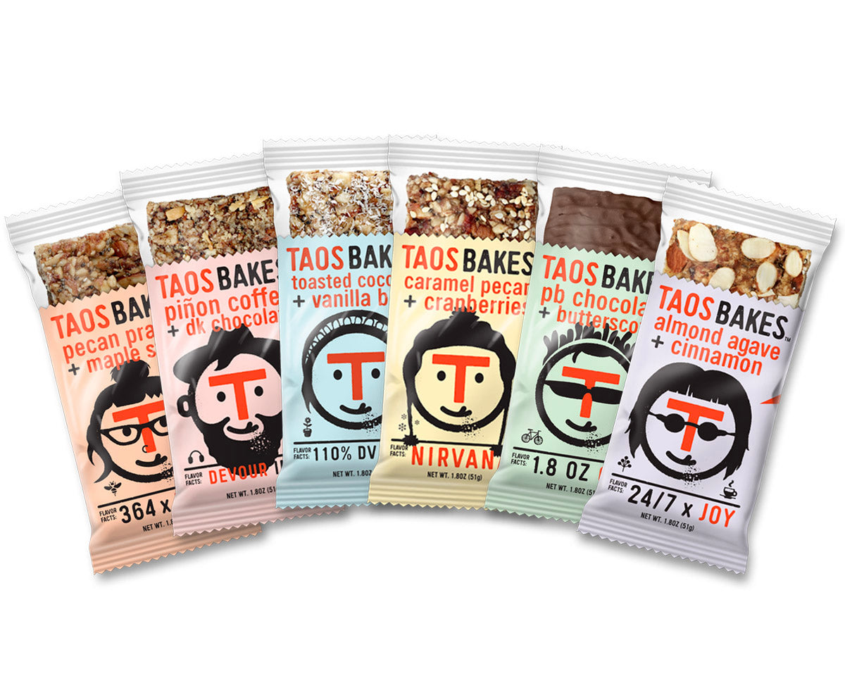 Taos Bakes 6 Bar Sampler Pack