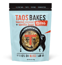 BITES - TOASTED COCONUT + VANILLA BEAN, 6OZ