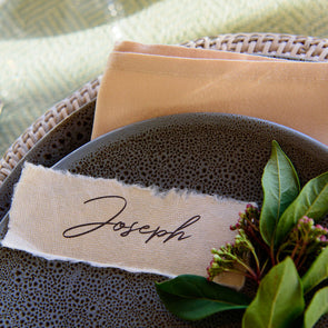 TABLE TOP - PLACE CARDS
