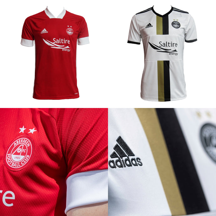 2020/21 A FIRST LOOK AT ABERDEEN HOME AND AWAY SHIRTS