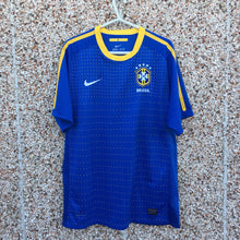 2010 11 BRAZIL AWAY FOOTBALL SHIRT - L