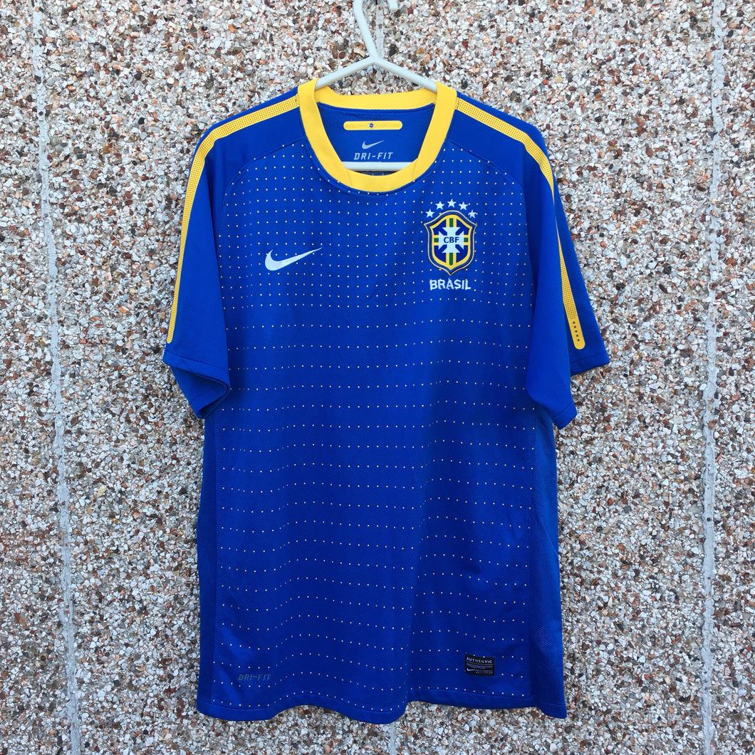 2010 2011 Brazil Away Football shirt - L