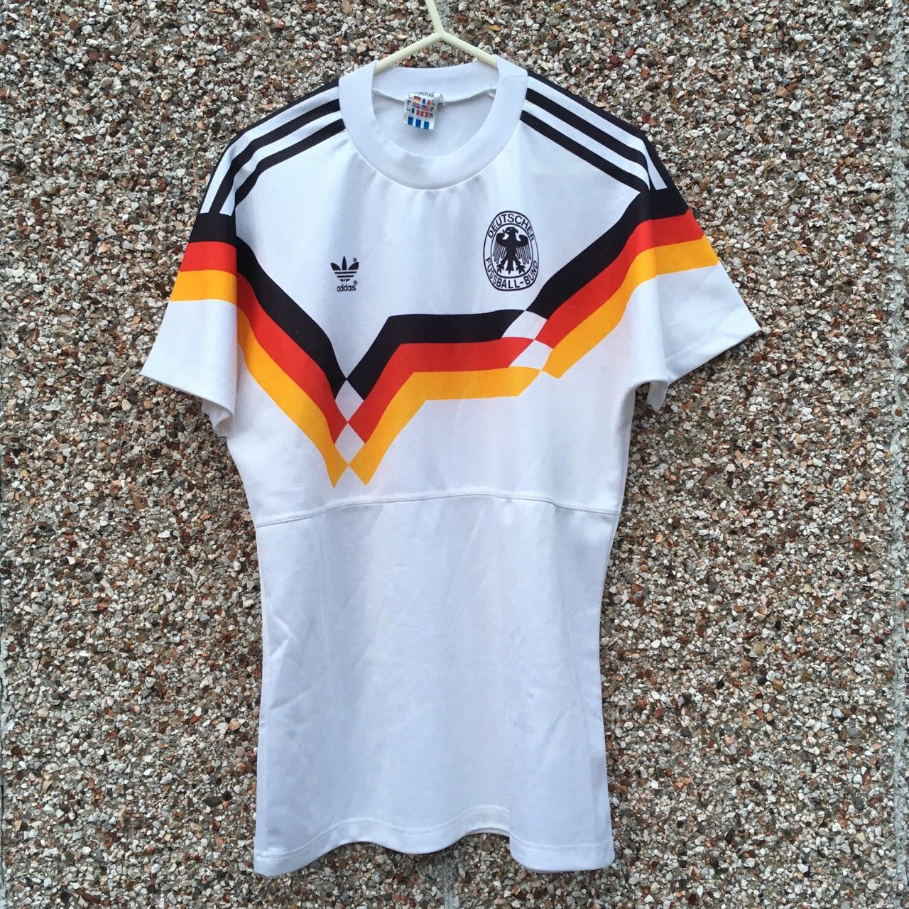 13534594a59 1990 1992 West Germany home Football Shirt - S ...