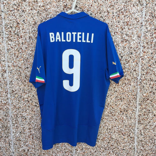 2014 15 Italy BALOTELLI #9 home Football Shirt NEW - XL