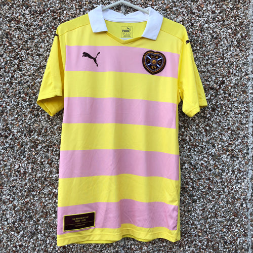 2016 2017 Heart of Midlothian away Football Shirt - S
