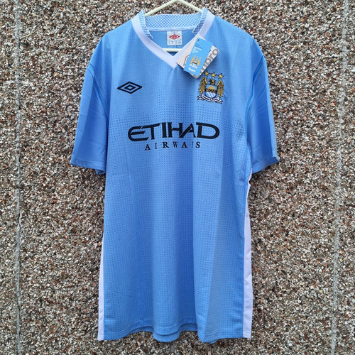 2011 2012 Manchester City Home Shirt NEW - XL