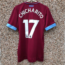 2017 2018 West Ham home football shirt CHICHARITO #17 *BNWT* - S