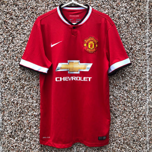 2014 2015 Manchester United home Football Shirt - L