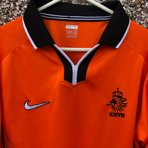 1998 2000 HOLLAND HOME FOOTBALL SHIRT - S