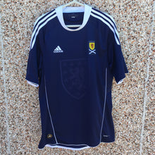 2010 2011 Scotland home Football Shirt - M