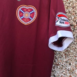 2011 2012 Heart of Midlothian home football shirt HOLT #42 - S