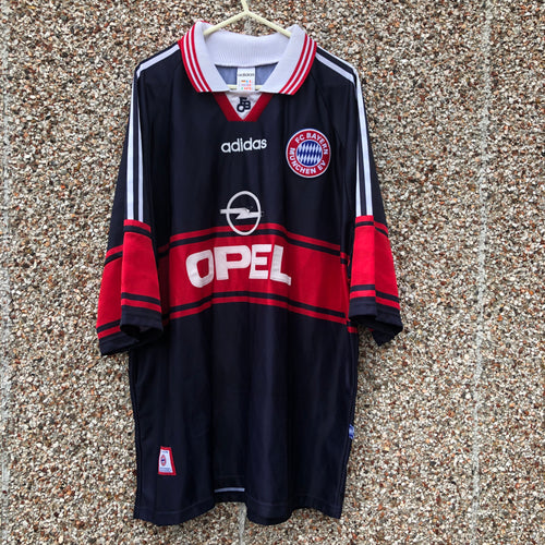 1997 1999 Bayern Munich Home Football Shirt - XXL