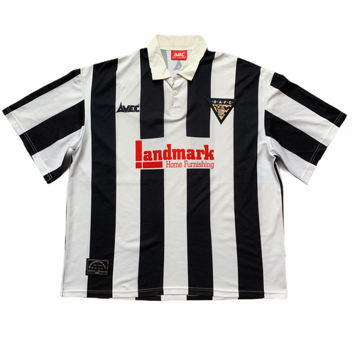 1997 98 DUNFERMLINE ATHLETIC HOME FOOTBALL SHIRT - XL