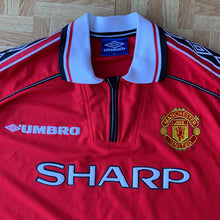 1998 00 MANCHESTER UNITED HOME FOOTBALL SHIRT - XL