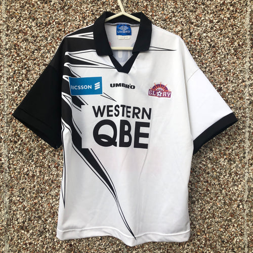 1998 1999 Perth Glory away Football Shirt - M