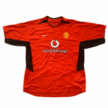 2002 04 MANCHESTER UNITED HOME FOOTBALL SHIRT - XL