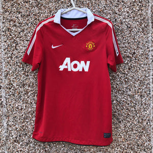 2010 2011 Manchester United home Football Shirt - Youth XL