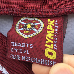 1997 1998 Heart of Midlothian away Football Shirt - S