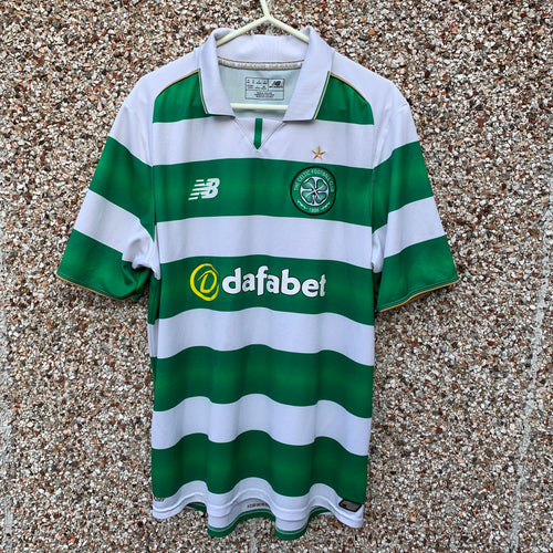 2016 2017 Celtic home football shirt - M