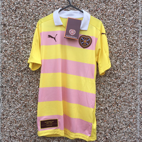 2016 2017 Heart of Midlothian away Football Shirt *BNWT* - S