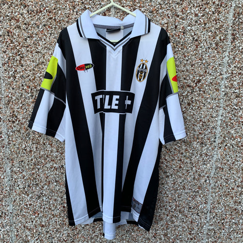 2000 2001 Juventus home football shirt - L