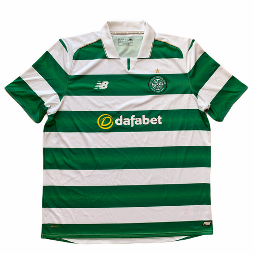 2016 17 CELTIC HOME FOOTBALL SHIRT - L