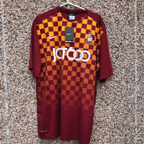 2015 2016 Bradford City home football shirt *new* - XL