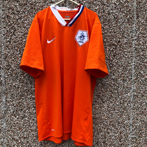 2008 2010 Holland home football shirt - XXL