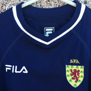 2000 2002 Scotland home football shirt - L