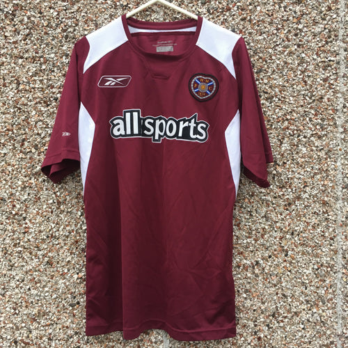 2004 2005 Heart of Midlothian Football Shirt - S