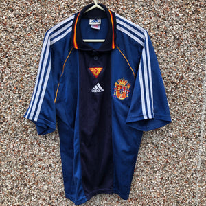 1999 2000 Spain away football shirt - S